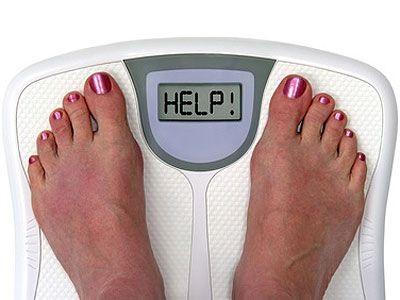 Почему вес стоит на месте?