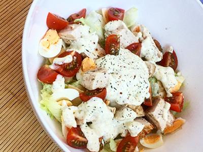 Идеальный ужин салат